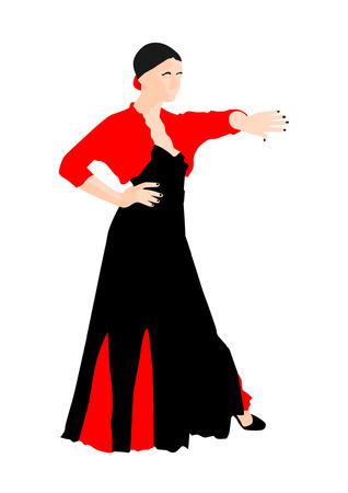 sway: Flamenco Dancer Illustration