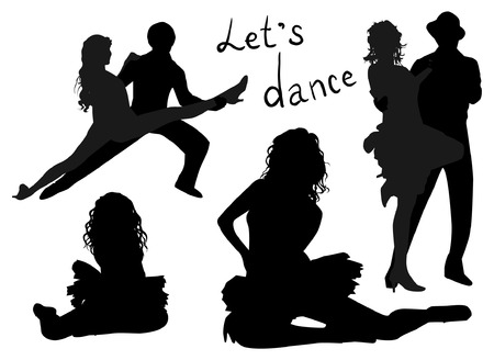 waltz: Dance Silhouettes