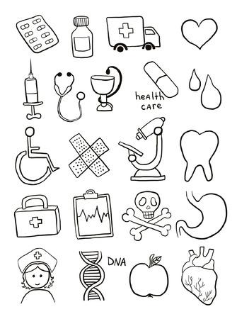 Health care symbols Vector