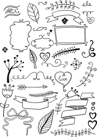 hand drawn frame: Design Elements Illustration