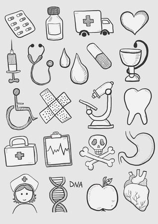 Health care symbols Vector