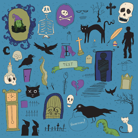 monsters house: Scary symbols