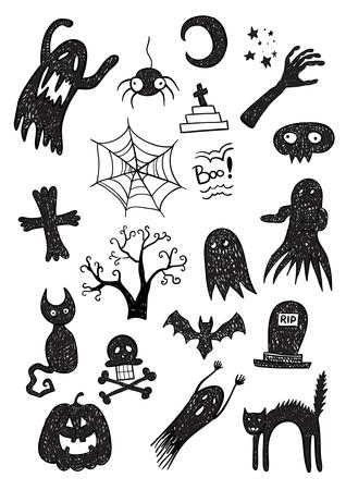 Black Scary Set