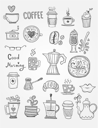 cezve: Coffee Doodles