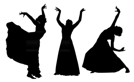 shadow show: Dancing silhouettes