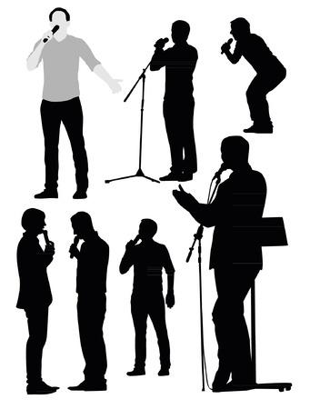 showman: Orator Silhouettes