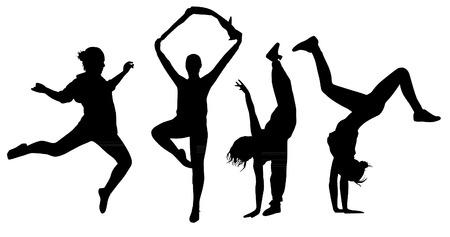 Siluetas del baile