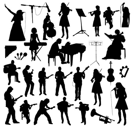 Musicians Silhouettes