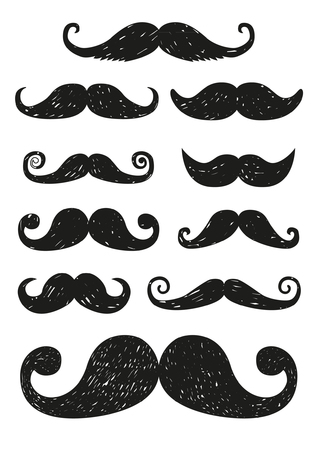 mustaches: mustaches Illustration