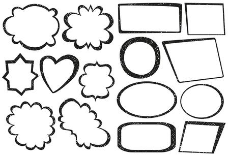 pens: Hand Drawn Frames