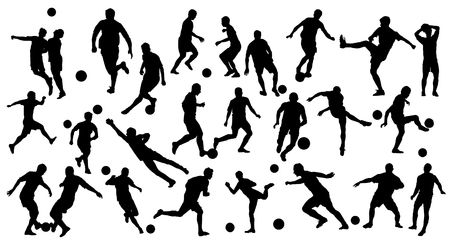 silhouettes: Soccer Silhouettes
