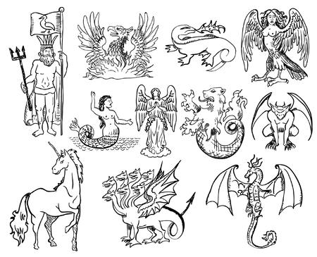 mythological: mythological creatures