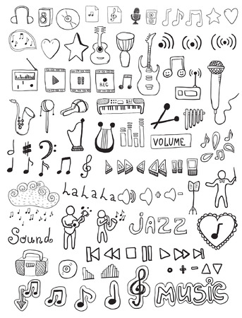 cd recorder: music symbols