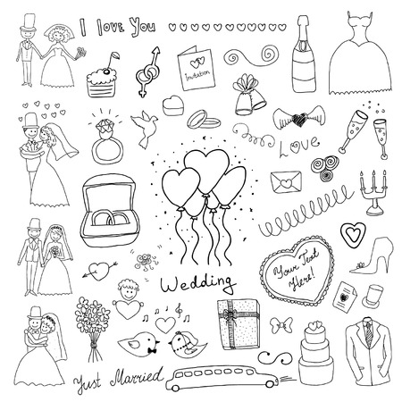bruiloft set
