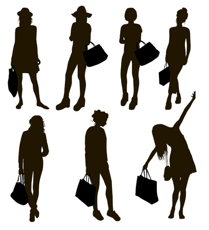 silhouettes: Shopping Silhouettes