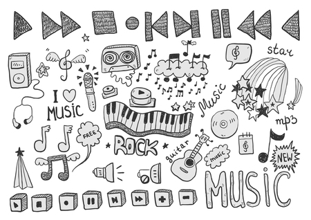 music signs Illustration
