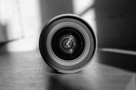 open front  lens cap Imagens
