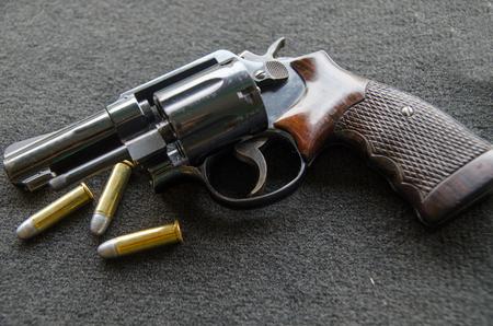 roller short gun and bullets