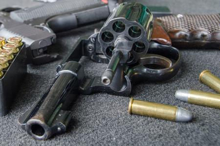 ported: rodillo corto pistola con balas