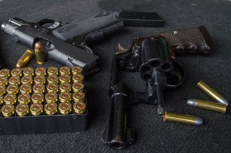 short gun and bullet   demonstration