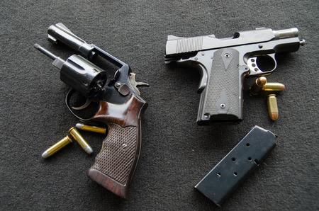 short gun parts Banco de Imagens