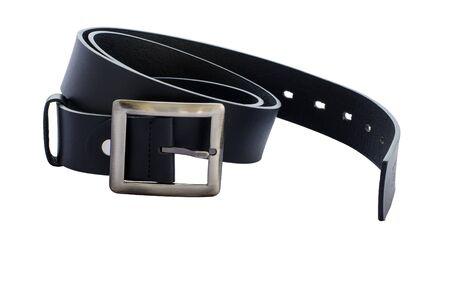 black belt isolate white