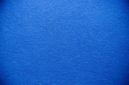 Blue fabric texture for background photo