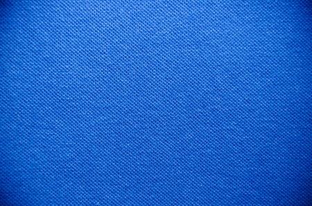 tela algodon: Textura de la tela azul para el fondo Foto de archivo