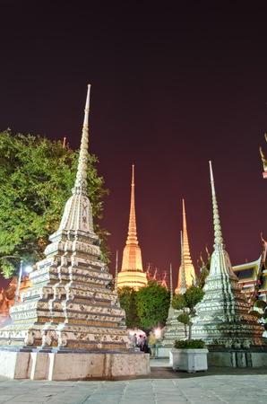Pagoda at Wat Po in Bangkok, Thailand photo