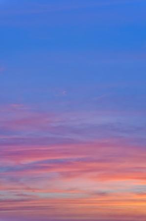 Twilight Sky Background Foto de archivo