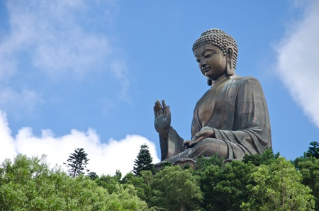 Tian Tan Buddha - the world s tallest outdoor seated bronze Buddha located in Hong Kong