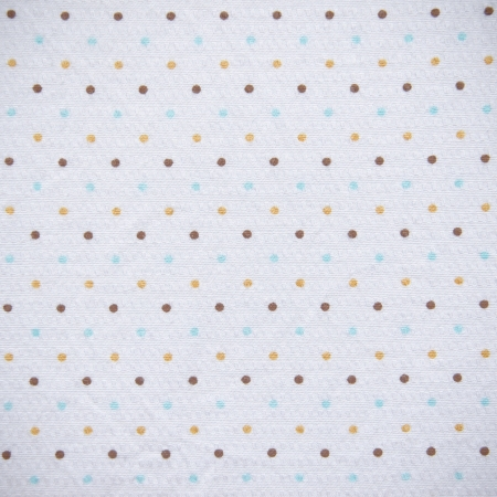 white linen: Colorful Dots Fabric Texture Background  Stock Photo