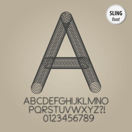 sling: Abstract Sling Alphabet and Digit Vector
