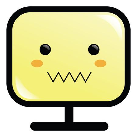 Monitor Illustration