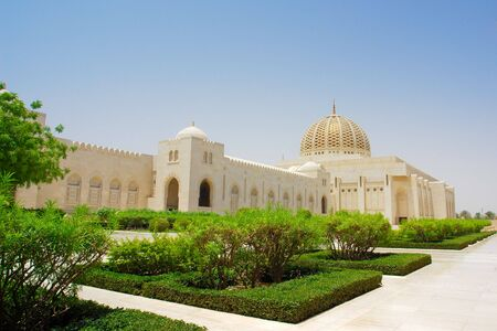 Muscat - Oman, Sultan Qaboos Grand Mosque  photo
