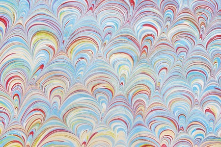 Marbled paper artwork background photo