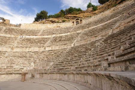 amphitheater: Amman, Jordan - Ancient Roman amphitheater