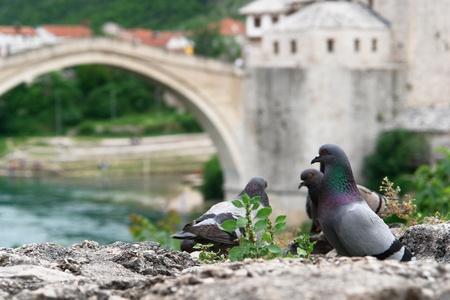 Pont de Mostar Bosnie-Herzégovine
