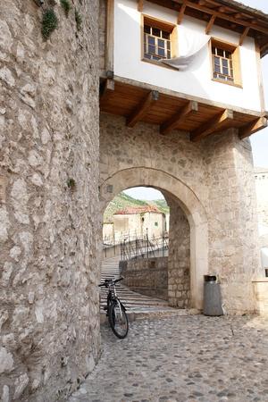mostar: Mostar Bridge Bosnia and Herzegovina  Stock Photo
