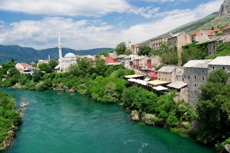 mostar: Mostar - Bosnia and Herzegovina  Stock Photo