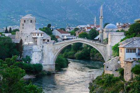 Mostar Bridge - Bosnia Herzegovina  photo