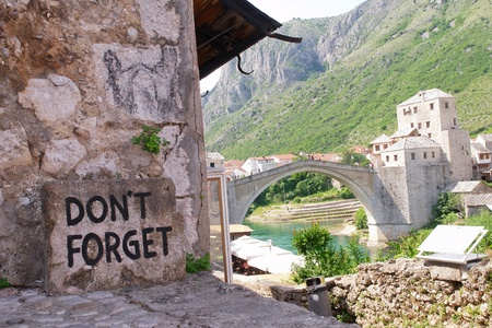 mostar: Mostar Bridge - Bosnia Herzegovina