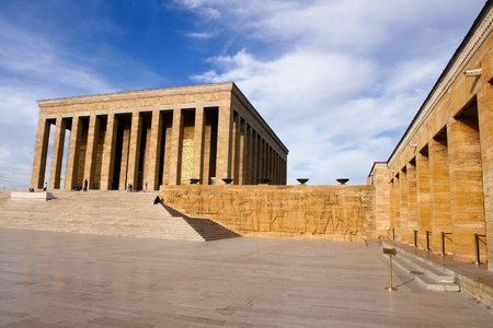 Ankara, Turkey - Mausoleum of Ataturk  Stock Photo