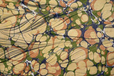 marbled: Turkish opere d'arte di carta marmorizzata
