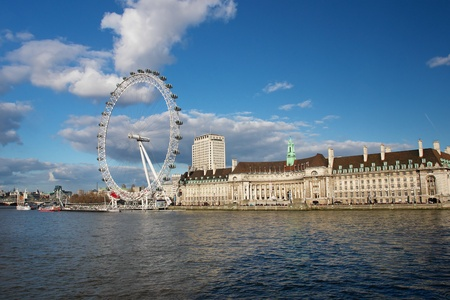 round eyes: London eye - United Kingdom