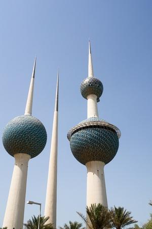 kuwait: Kuwait towers Stock Photo