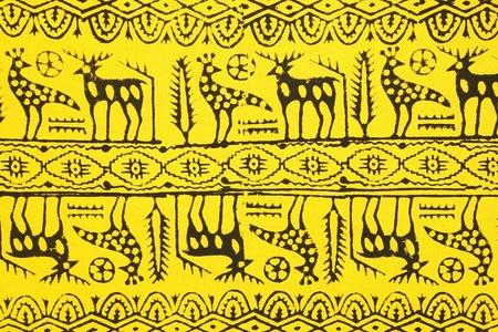 Turkish - ottoman scarf pattern photo