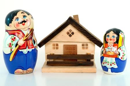 Geschachtelte espagnole und home-Konzept