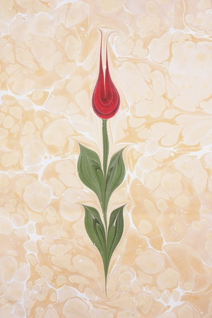 Marbled paper artwork background                                 photo