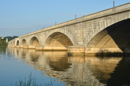 Arlington Memorial Bridge, Washington DC USA  Stock Photo